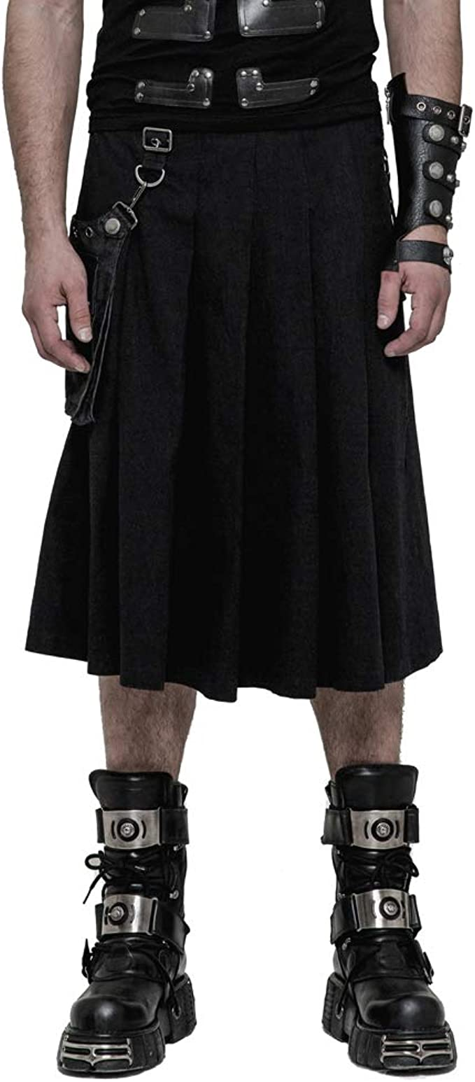 Punk Rave - Disfraz de Media Falda con Pliegues Estilo Steampunk ...