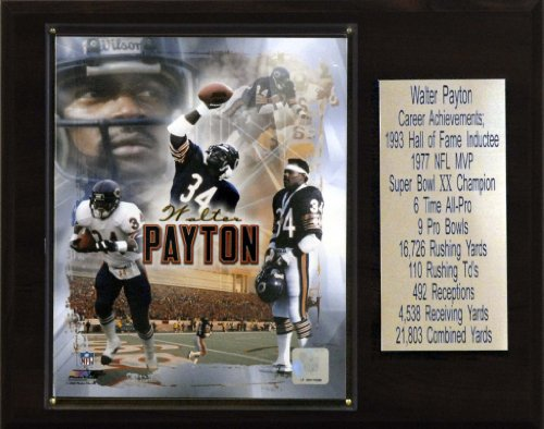 NFL Walter Payton Chicago Bears Career Stat Plaque ()