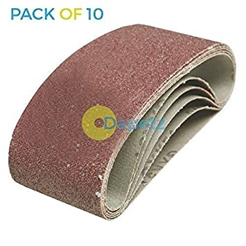 Dapetz /® 20 X Sander Sanding Belt Belts 75mm X 457mm 40 Grit Very Coarse