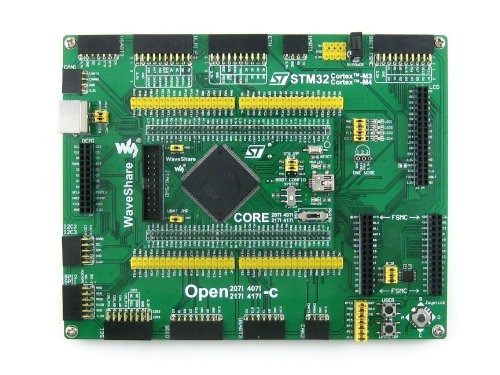 Waveshare Open407I-C Package B STM32 Board STM32F407IGT6 Cortex-M4 ARM STM32 Development Board Kit+Camera +3.2'LCD +16 Modules