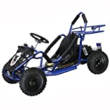 JCMOTO Children Kids Electric 4 Wheeler Go Kart 48v 1000w Blue