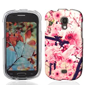 For Samsung Galaxy Light T399 Pink Blossom Case Cover