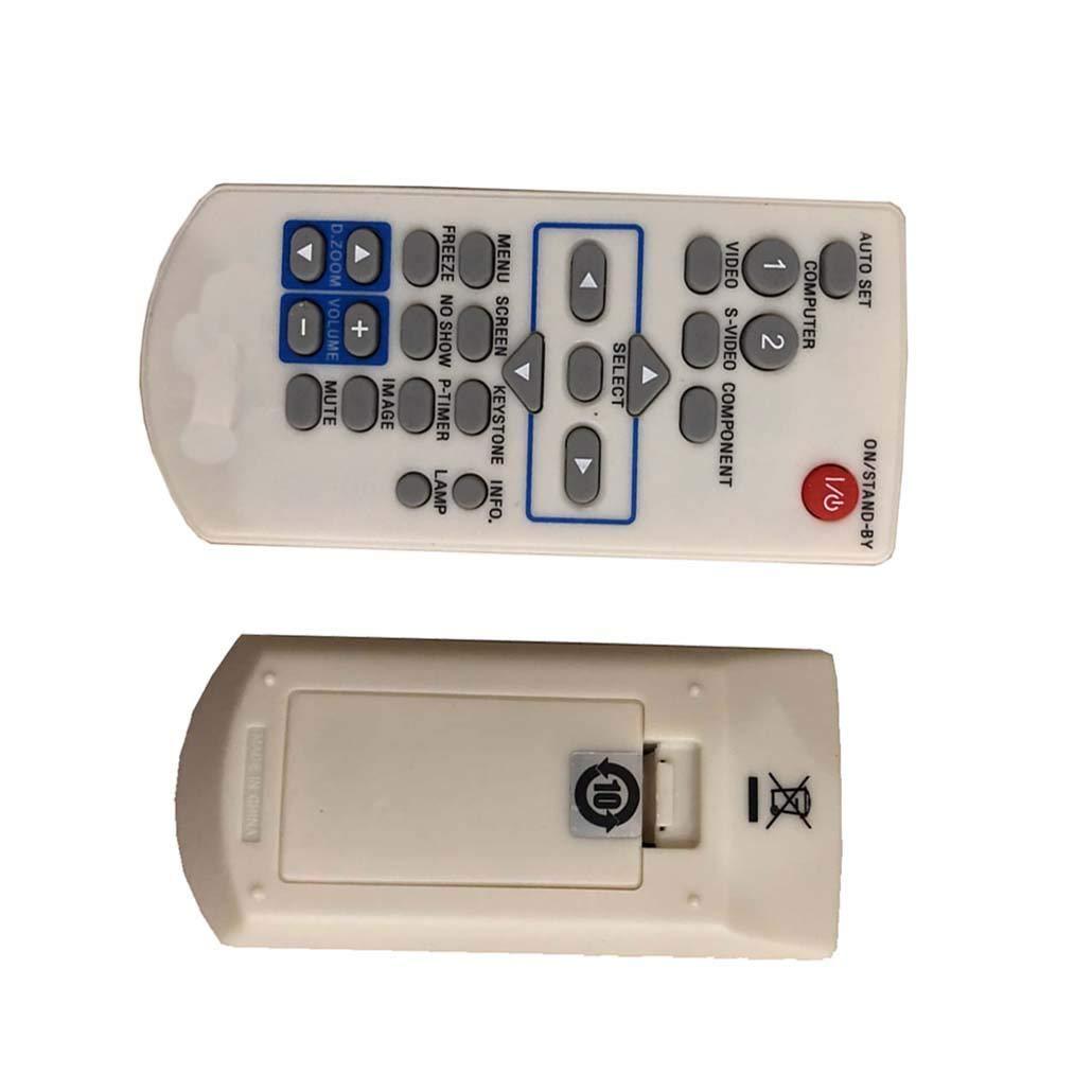 4ever ReplacmentのリモートコントロールSanyo plc-wxu3st plc-su30 plv-3000 plv-z4000 plc-wxu10b plc-xk460プロジェクタ   B074639CWX
