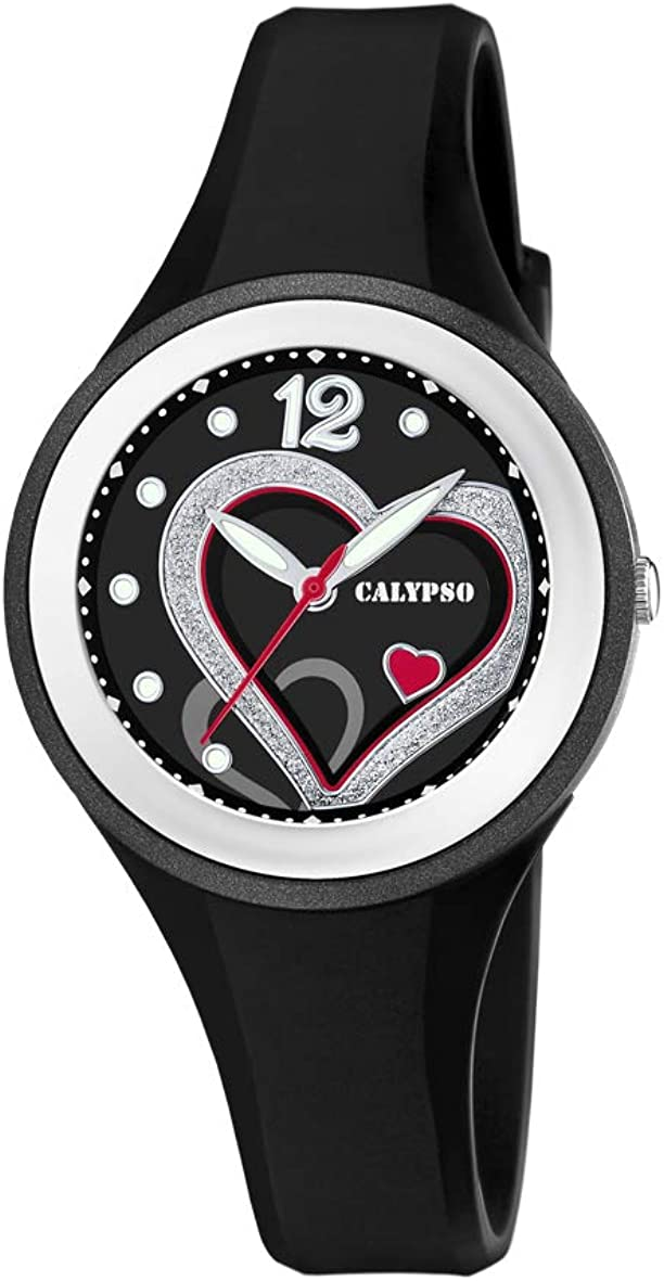 Calypso Watches Reloj Analógico para Mujer de Cuarzo con Correa en Plástico K5751/4