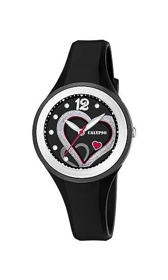 Calypso Watches Reloj Analógico para Mujer de Cuarzo con Correa en Plástico K5751/4: Amazon.es: Relojes