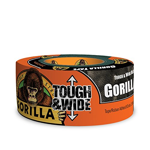 Gorilla 6003001 Tough & Wide  Duct Tape, 2.88-Inch x 30-Yards (Duct Tape Tough)