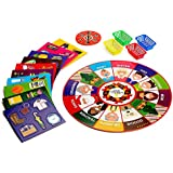 Christmas Floor Puzzle and Games| Best Activity Collection Fun for Entire Family| Choose from Puzzles, Memory Cards, & Thrilling Board Game |Popular Party Toys| Christmas Themed