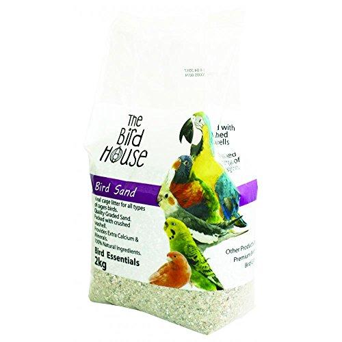 Happy Pet Bird Sand (4.4lbs) (May Vary) by Happy Pet