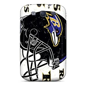 Galaxy S3 Case Slim [ultra Fit] Baltimore Ravens Protective Case Cover