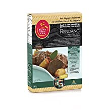 Prima Taste Rendang, Asian Dry Curry Ready to Cook Sauce Kit, 360g