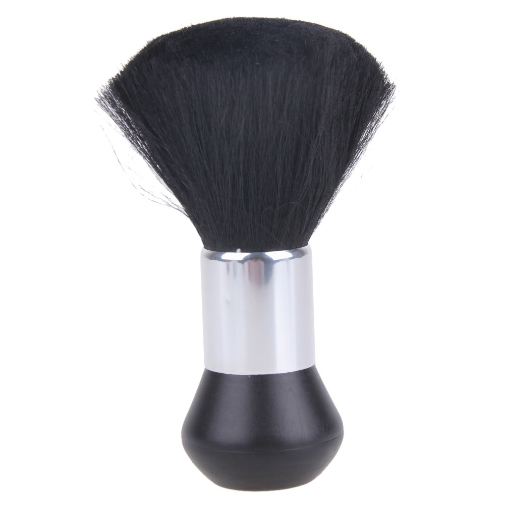Everpert Barber Neck Duster Soft Brush Hairdressing Hair Cutting Salon Stylist Black