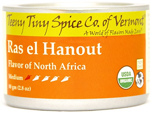 - Teeny Tiny Spice Co of Vermont Organic Ras el Hanout, 2.8 Oz