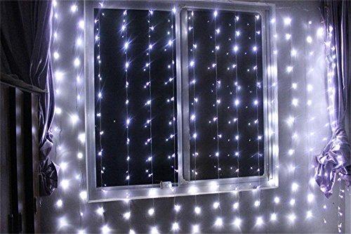 Black Led Light Curtain - 7