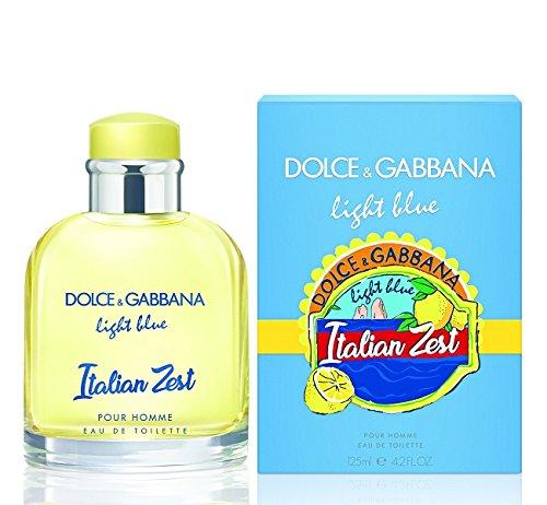 Dolce&Gabbana Light Blue Italian Zest Pour Homme Eau De (Light Blue Italian)