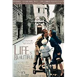 Life Is Beautiful Poster 24x36