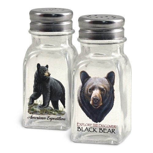 American Expedition Bear Salt and Pepper Shakers