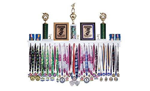 Premier 4ft Award Medal Display Rack and Trophy Shelf ()