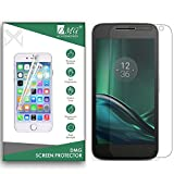 DMG Tempered Glass for Moto G4 Play 4th Gen, Ballistic Curved Glass Screen Protector for Moto G4 Play