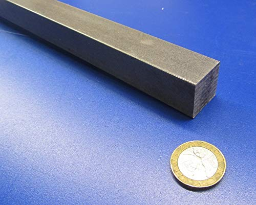 1 Pc. 12L14 Carbon Steel Flat Bar Stock.875 Thickness x .875 Width x 1 Ft Length