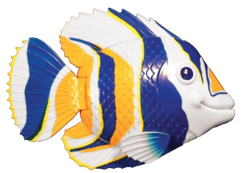 (Swimways Rainbow Reef Mini Fish - Orange/White/Blue)