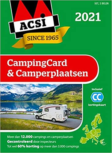 ACSI campingcard & camperplaatsen 2021: set 2 delen ACSI ...