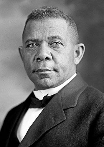 Home Comforts Laminated Poster Portrait Booker T Washington