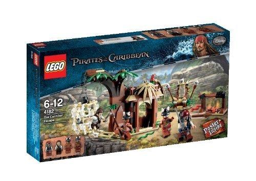 LEGO Pirates of the Caribbean 4182 - Flucht vor den Kannibalen by LEGO (Cannibal Jack Caribbean)