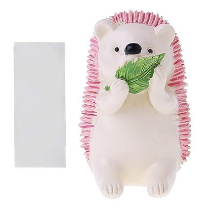 Plug Bathroom Accessories Toothbrush Holder Wall Mounted Hedgehog Storage Rack