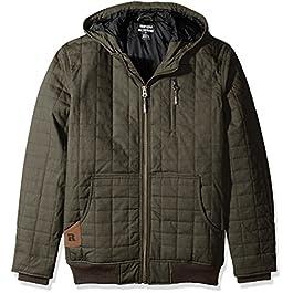 Wrangler Riggs Workwear Men's Big & Tall Tradesman Hooded Jacket