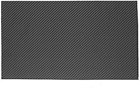Wzqwzj Karbonfaserplatte Glattwebplatte (glänzende Oberfläche) 500X400 mm, 2,5 mm bis 6 mm-2.5mm