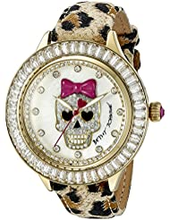 Betsey Johnson Womens BJ00358-13 Analog Display Quartz Multi-Color Watch