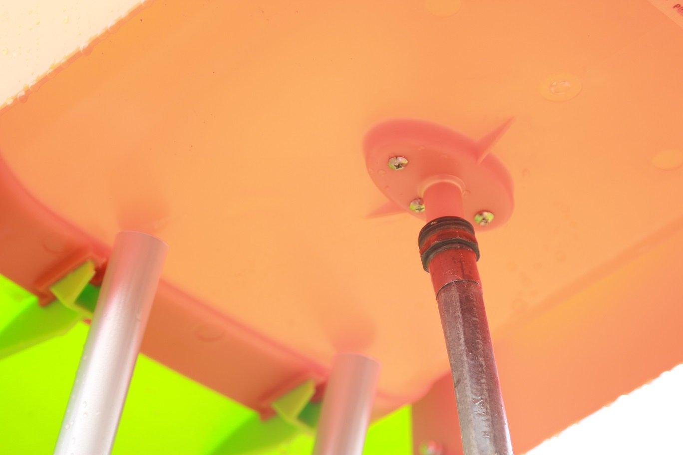 SLIDEWHIZZER Outdoor Play Set Kids Slide: 10 ft Freestanding Climber, Swingsets, Playground Jungle Gyms Kids Love - Above Ground Pool Slide for Summer Backyard by SLIDEWHIZZER (Image #5)