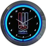 camaro clock neon - Neonetics Camaro Neon Wall Clock, 15-Inch