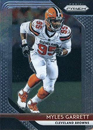 2018 Panini Prizm Football  152 Myles Garrett Cleveland Browns Official NFL  Trading Card 7da84f2f8
