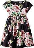 Dolce & Gabbana Kids Baby Girl's Sleeveless Dress (Toddler/Little Kids) Black Print 4
