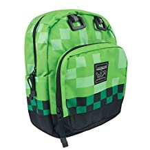 Minecraft Childrens/Kids Official Creeper Mini Backpack (One Size) (Pixel Green)