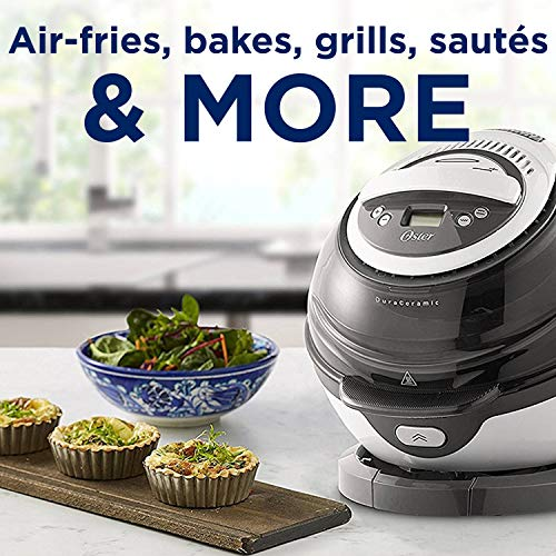 Oster  Dura Ceramic Air Fryer, Large/3L, Black by Oster (Image #2)
