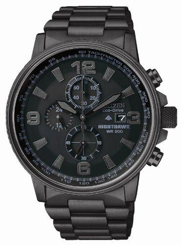 Citizen Men's CA0295-58E Eco-Drive Nighthawk Stainless Steel - Watch Citizen Nighthawk