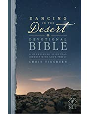 Dancing in the Desert Devotional Bible NLT (Hardcover): A Refreshing Spiritual Journey with God's People