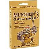 Steve Jackson Games Munchkin Clerical Errors