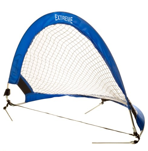 Champion Sports Extreme Soccer Portable Pop-Up Goal, Blue by Champion Sports