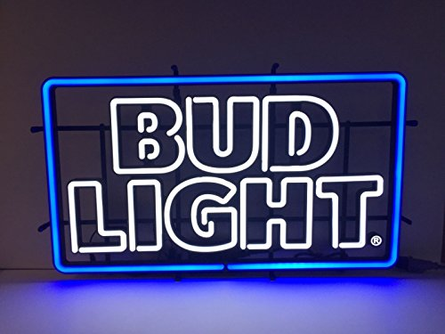 Bud Light Beer - LED Opti NEON Sign - New 2016 Retro Design