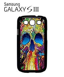 Skull Skeleton Art Mobile Cell Phone Case Samsung Galaxy S3 White