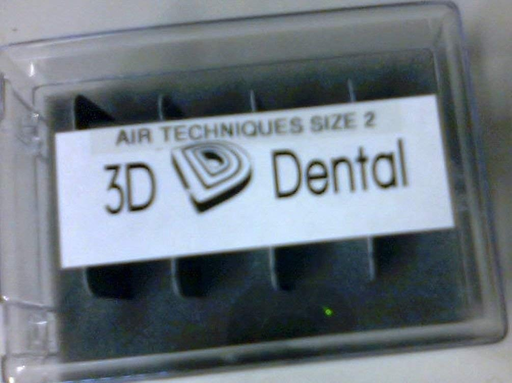 3D Dental XR952 Phosphor Imaging Plates Air Techniques Type #2 4/Pk (4/Pk)