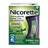 Mini Nicorette Nicotine Lozenge to Stop Smoking