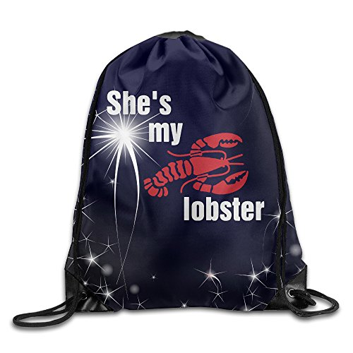 Price comparison product image 36 She's My Lobster For Life Guy Classic Beam Port Drawstring Backpack Bags