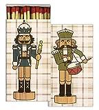 HomArt Matches - Nutcrackers (Set of 50)