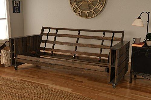 Kodiak Furniture KF Tacoma Futon Rustic ()