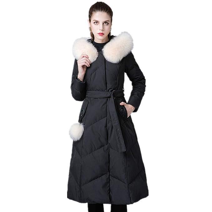 best website 17fe7 be7d4 YZ-HOD Piumino da donna lungo tratto invernale Collo in ...