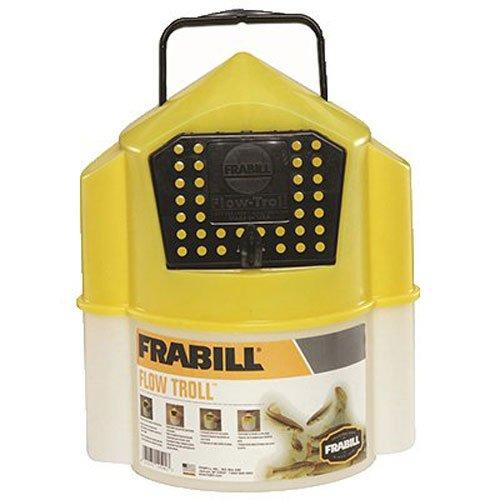 Frabill Flow Troll Bait Container, 6-Quart, - Frabill Minnow Buckets